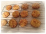 Pumpkin Snickerdoodle cookies cooling
