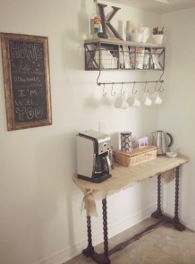 My coffee nook
