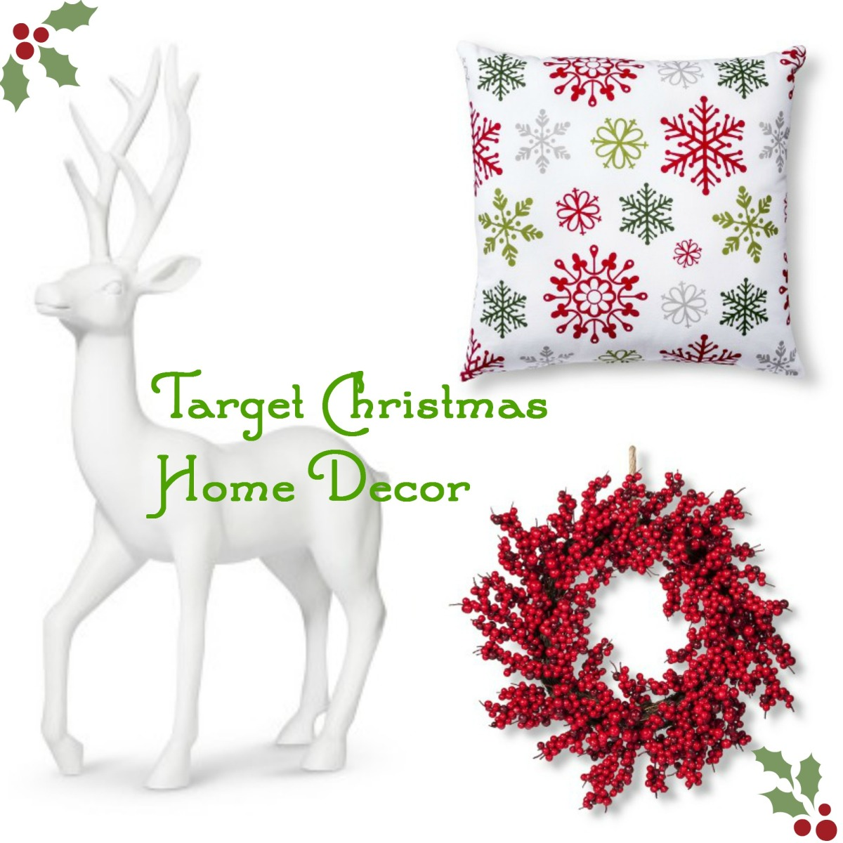Things I\'m Loving Thursday: Target Christmas Home Decor  