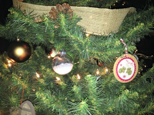 Tree ornaments clear bulbs