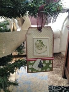 tree ornaments tags