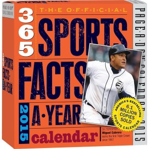 2015 365 Sports Facts A Year Calendar