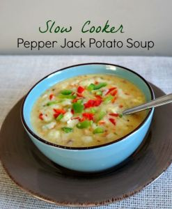 Pepper Jack Potato Soup