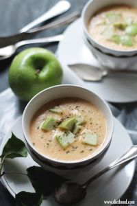Apple and Cheddar Soup