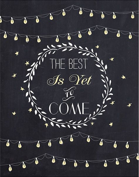 Best is yet to come!