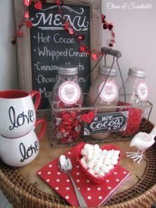 Chalkboard Hot Chocolate Menu