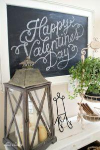 Chalkboard valentines inspiration