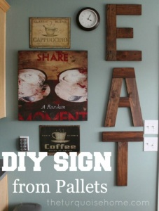 """Eat"" Sign for Kitchen"