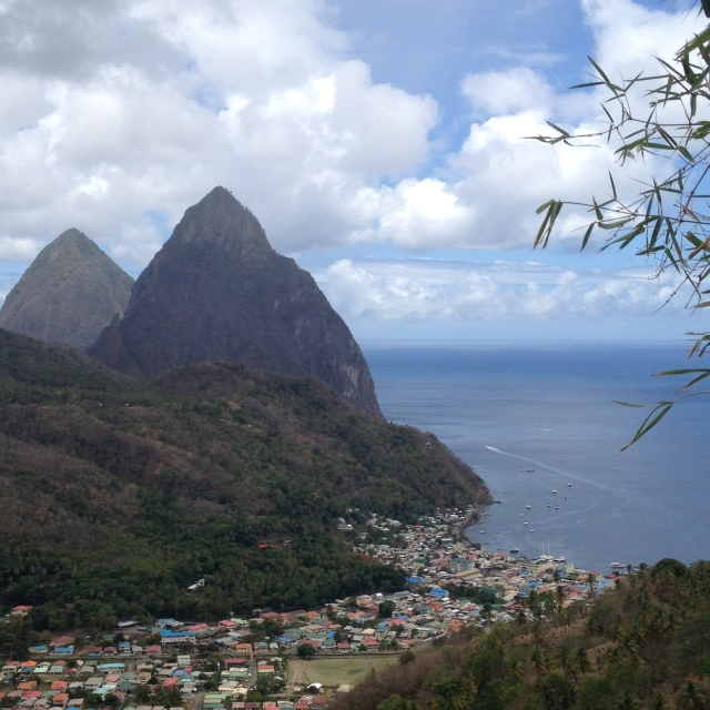 Gros & Petite Pitons - St. Lucia