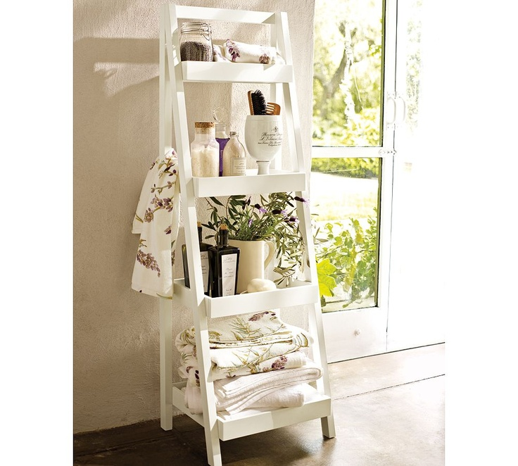 Ladder Shelf In Bathroom Part 48