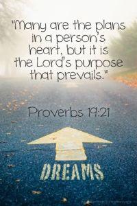 Proverbs 19:21