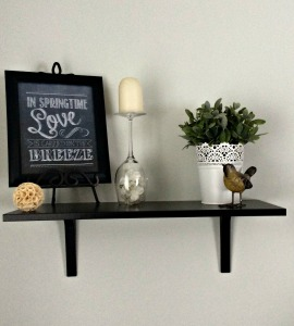 Dining shelf