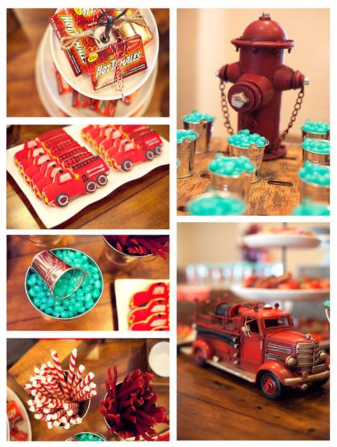Firefighter theme party