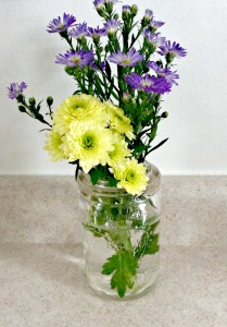 Crown Mason Jar Vase
