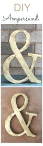 Ampersand DIY
