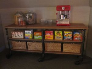 Basement snack bar