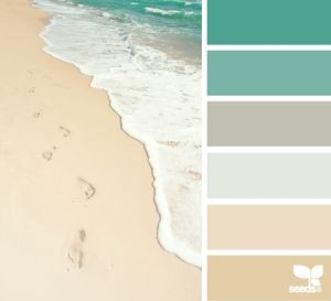 Beach Bath paint colours