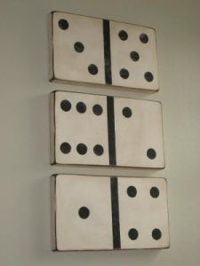 DIY Dominos for media room