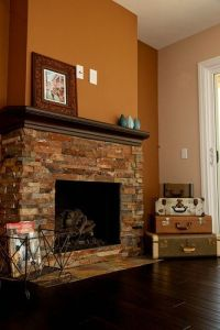 Fireplace rec room