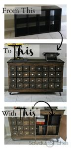 Ikea card catalog