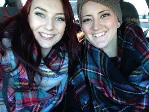Britt & I