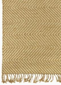 Jute herringbone rug