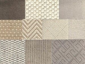Neutral carpet samples