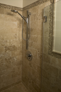 Shower tile