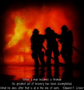 When A Man Becomes A Firefighter