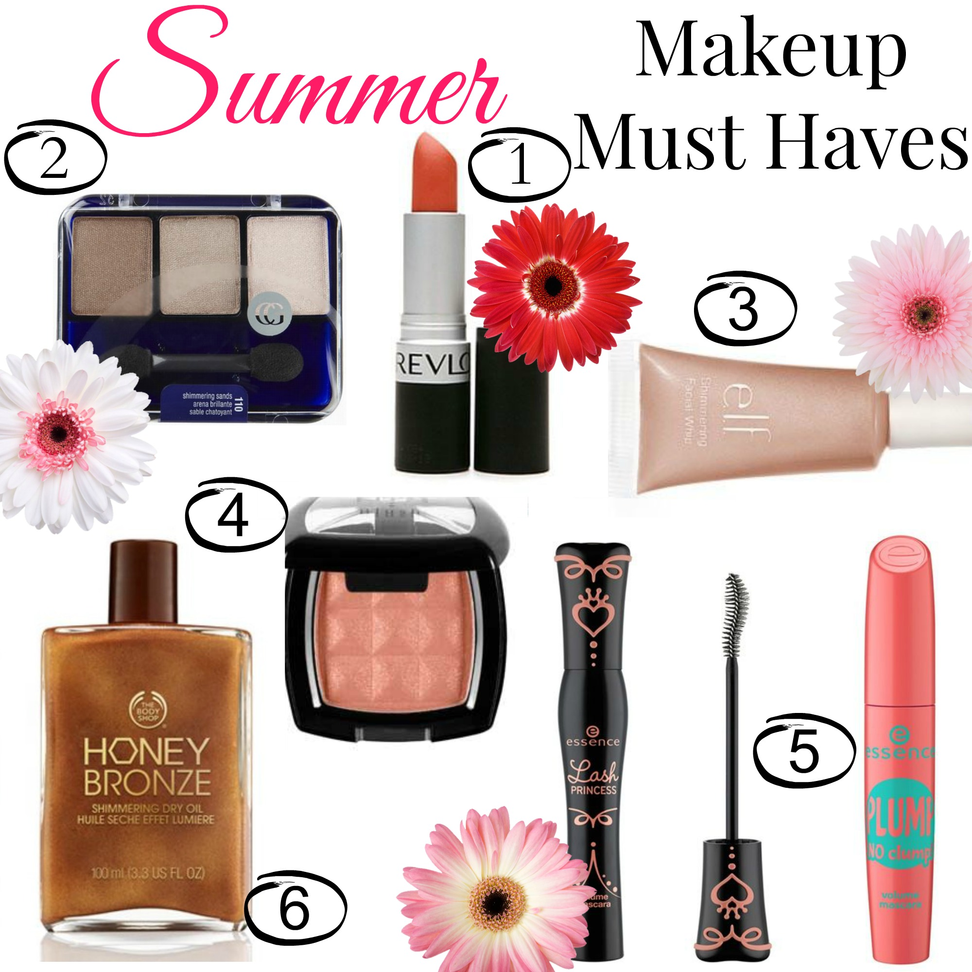 summer makeup must haves - Makeup Must Haves