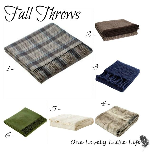 Fall Throws