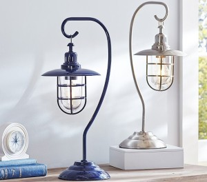 Adorable lamp - I prefer just the nickel one. $89