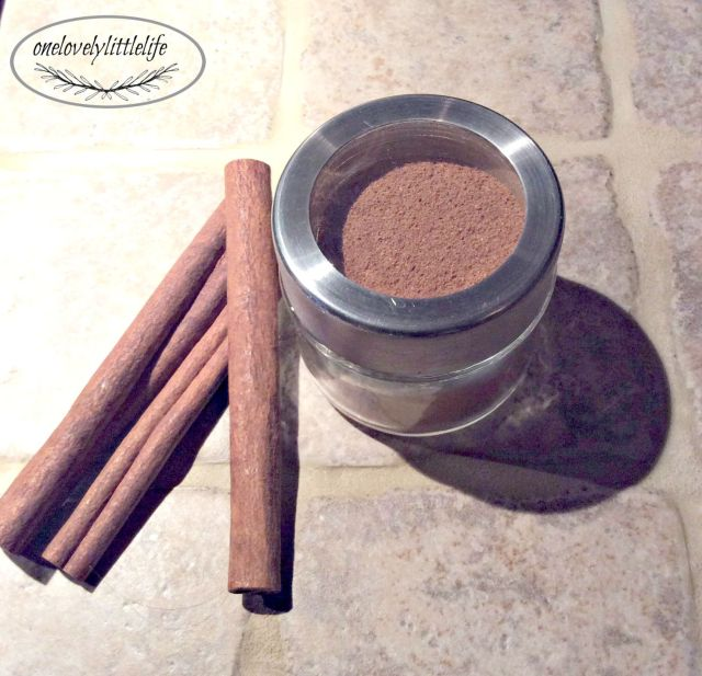 Pumpkin Pie Spice DIY
